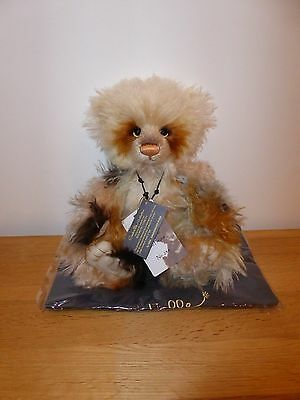 Charlie Bears ` POEM ` 10th Anniversary Mohair Ltd Edition 500