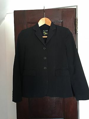 Girls Equestrian Show Jacket, EA kids, Black - EUC, Size 14