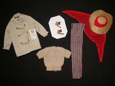 Vintage 1961 BARBIE Doll OPEN ROAD Outfit – NEAR COMPLETE