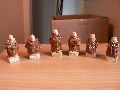 """A  Set Of 6 Wade """"kp Friars"""" Figures"""