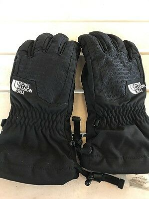 The North Face Black  Hyvent Gloves Size Small Youth/Junior