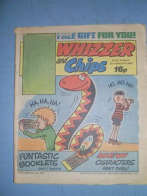 Whizzer and Chips issue dated February 12 1983