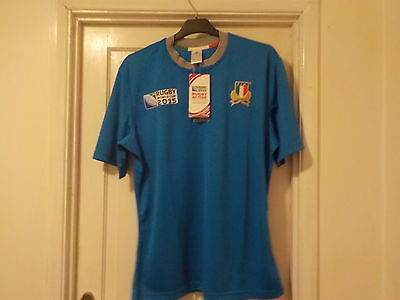 Italy 2015 Rugby World Cup home shirt, XL Adult, BNWT