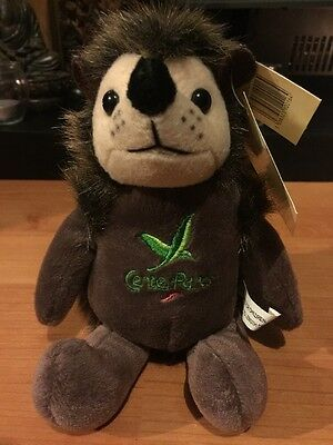 New With Tags center parcs soft toy hedgehog
