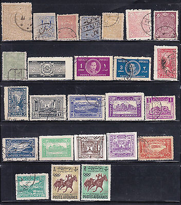 Afghanistan - Valuable Old Collection - Mostly Older - Look!