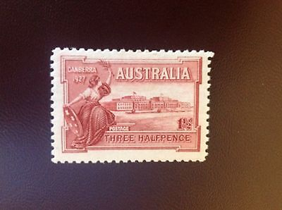 Australia 1927 Opening of Canberra House SG105 MH