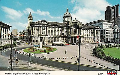Birmingham - Victoria Square And Council House By Dennis
