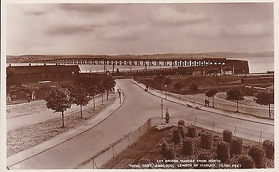 Dundee - Tay Bridge - Real Photo By White