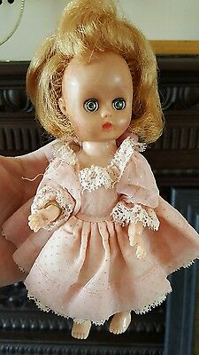 Vintage Cosmopolitan 1950s Sleepy Eyed Walking Ginger Doll