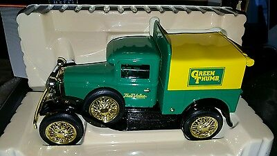 Liberty Classics Green Thumb~True Value~ Model A  Bank~1/24 ~ Nib