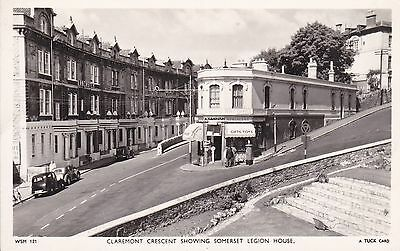 Somerset - Weston Super Mare - Claremont Post Office - Real Photo By Tuck
