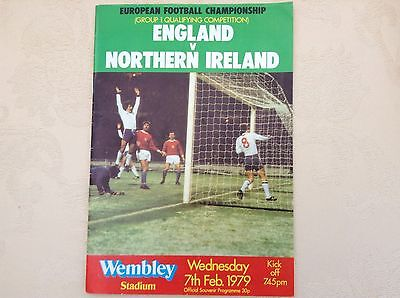 1979.  England. v  Northern Ireland