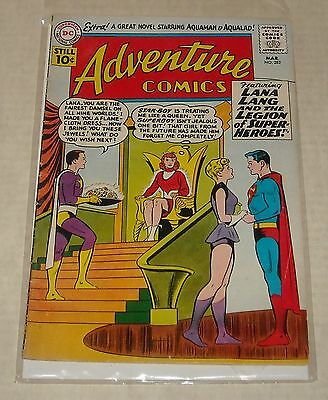 KEY SILVER 1961 ADVENTURE COMICS #282 SUPERBOY 5th LEGION 1st STAR BOY AQUAMAN