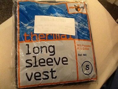 BN Thermal Long Sleeve Vests (2of) Size Small