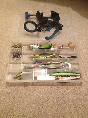 Pike Lure Selection and Swivels and Boat Rod Holder