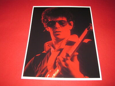 LOU REED  10x8 inch lab-printed photo P/8604