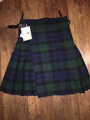 New Scottish Mens Stag Casual Party  tartan Kilt BNWT - Waist Sizes 30-32