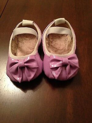 Baby BLOCH ballet shoes size 0-3 months