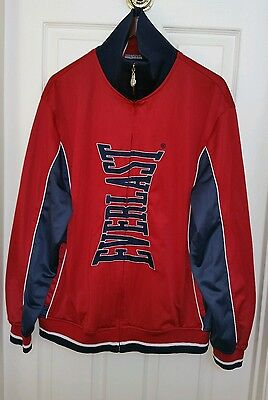Everlast Mens Bronx Jacket casual, sports, Boxing gym sz L red/blue