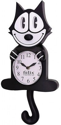 NJCroce Felix The Cat Animated Wall Clock