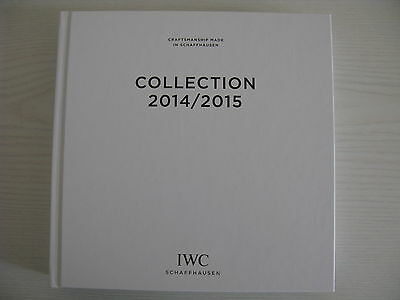 Iwc Hard Cover Watch Catalogue 2014 - 2015 Collection With Price List