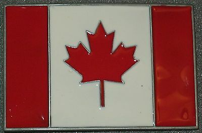 New Canada Flag Belt Buckle.Free Shipping to Canada & USA! #901