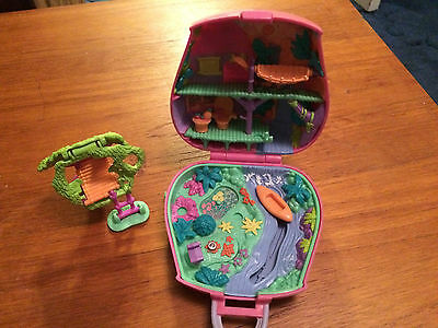 Polly Pocket - 1996 Jungle Adventure Bluebird