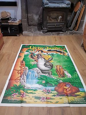 affiche cinéma 120x160 le livre de la jungle movie poster