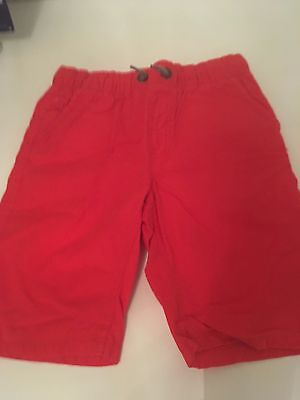 Boys Red Shorts Next 9Yrs