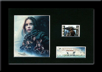 Mounted 35mm film cells display - Rogue One - Memorabilia Replica