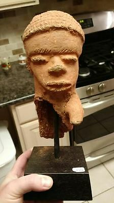Ex Howard Nowes Gallery Nyc Katsina Nigeria Artifact Ancient 500Bce 11 Inches!!!