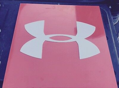 """Under Armour Metal Sign Heavy Duty 25""""x25"""" Over 21lbs Retail Display"""