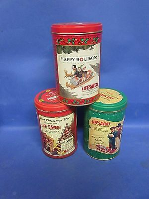 Life Savers Candy Collectible Tins Set of 3 Limited Edition 1988 1989 1990