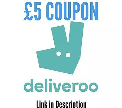 February 2017 DELIVEROO Discount Code