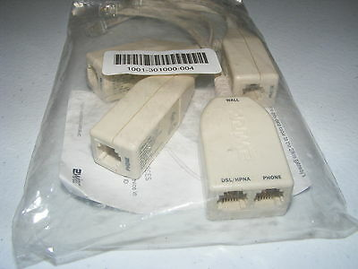 (4) 2Wire Dsl Filter Lot #lft4-1 Brand New Sealed Phone Line Computer