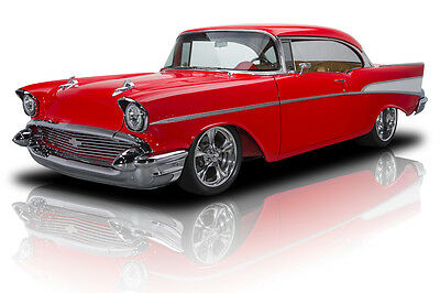 1957 Chevrolet Bel Air/150/210  Body Off Built Bel Air EFI LS1 V8 4 Speed Automatic PS A/C Disc Brakes Leather
