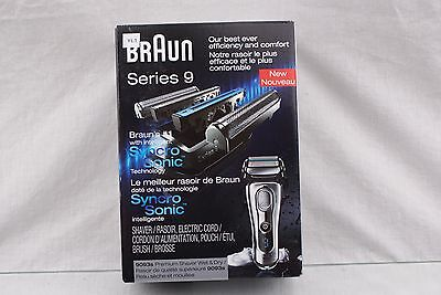 Braun Series 9 9093s Wet and Dry Electric Shaver *OPEN BOX* YL1