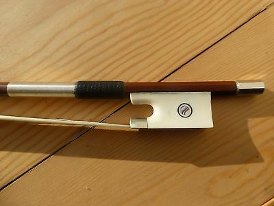 Pernambuco Violin Bow, Quality Hand Made, Full Size, Oxe Bone Frog, Uk Seller!