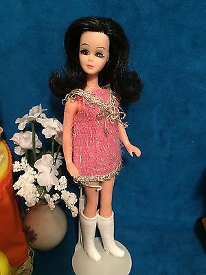 Topper Dawn Doll Outfit Pink Eyelash Mini Clothing Only
