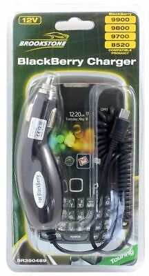 Brookstone Blackberry Car Charger 12V