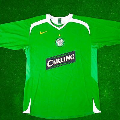 Celtic football shirt Away 2005/06 Large Excellent Condition NIKE