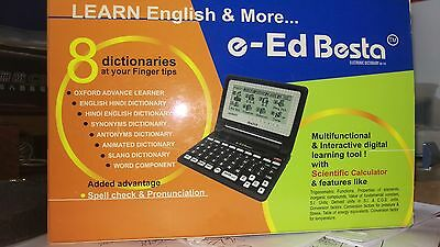 BESTA e-ED English -English-Hindi Electronic Talking Dictionary