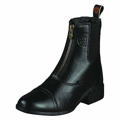 ARIAT - Women's Heritage Breeze Zip Paddock Boots - Black - ( 10005932 ) - New