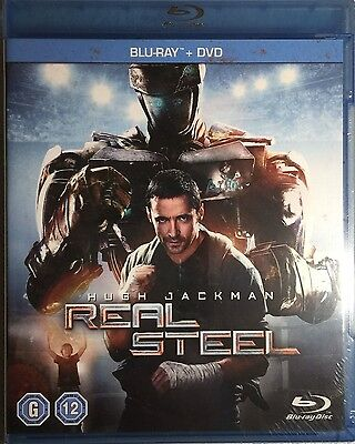 Real Steel [2 Discs] Blu-ray+DVD _ New sealed