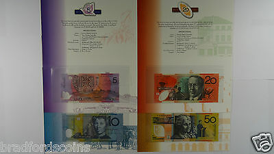 1997 Dated Annual Set $5,$10,$20,$50 & $100 Low Numbered Banknote Folders