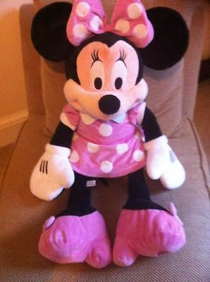 Disney Store Official Minnie Mouse Clubhouse Soft Plush Toy Large 30 inches