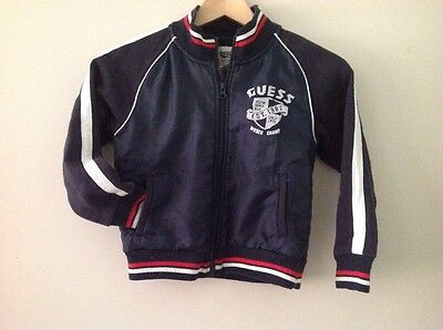 Boys GUESS Bomber Jacket Size 5-6