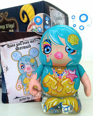 """Disney Vinylmation 3"""" Myths & Legends Series The Little Mermaid Collectible Toy"""