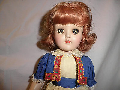 Vintage 1950's Ideal Toni P-90 Doll - Near Mint, A/O, Tagged - A Real Beauty!!