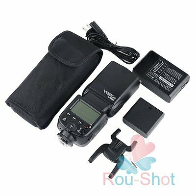 Godox Ving V860N i-TTL HSS Speedlite Flash + Li-ion Battery Charger for Nikon【AU